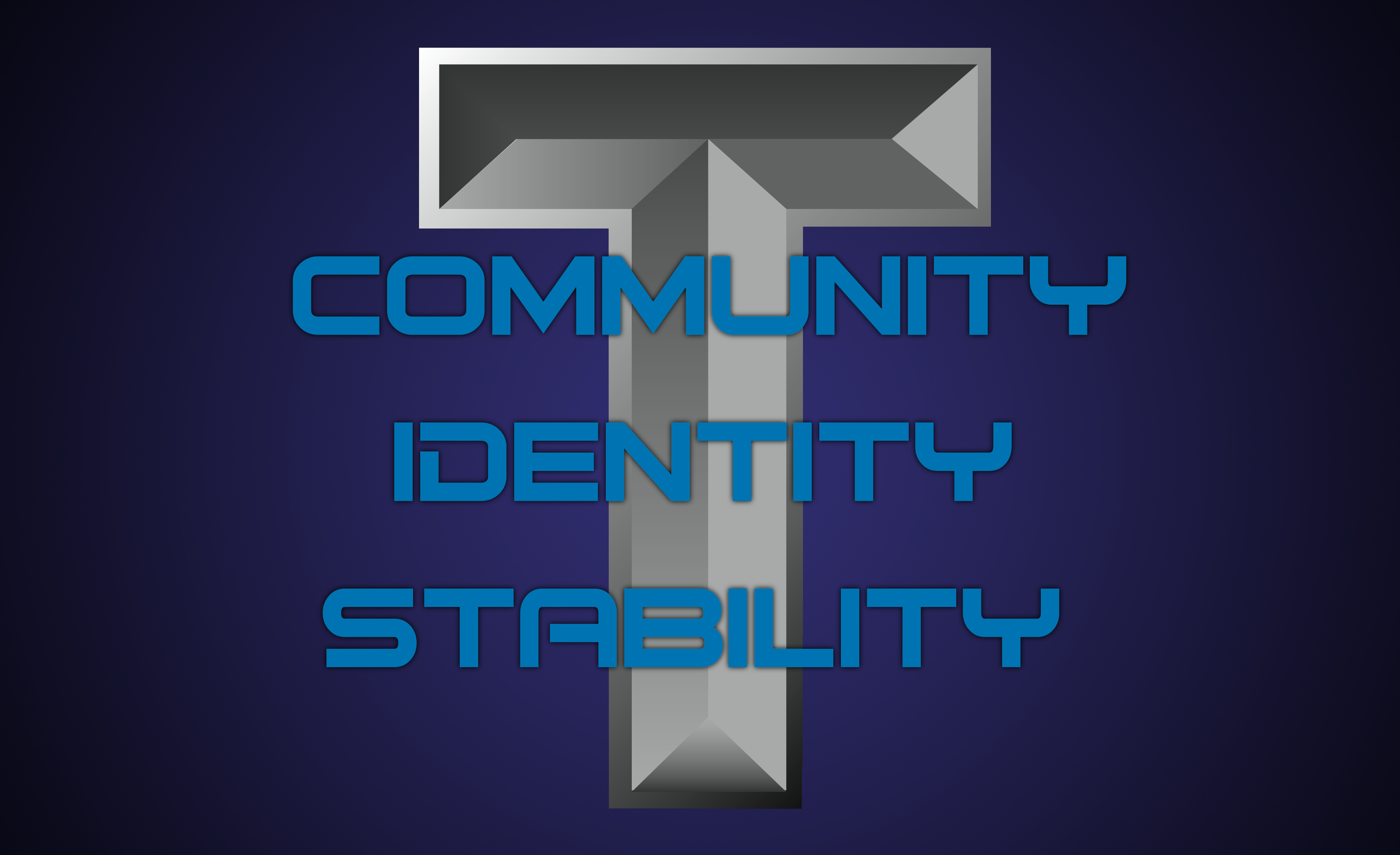 community identity stability I think that these words, community, identity, and stability have double meanings, especially in the context of the hatchery the people who work there are creating community, identity, and stability, by forcing it on children in an amoral way.