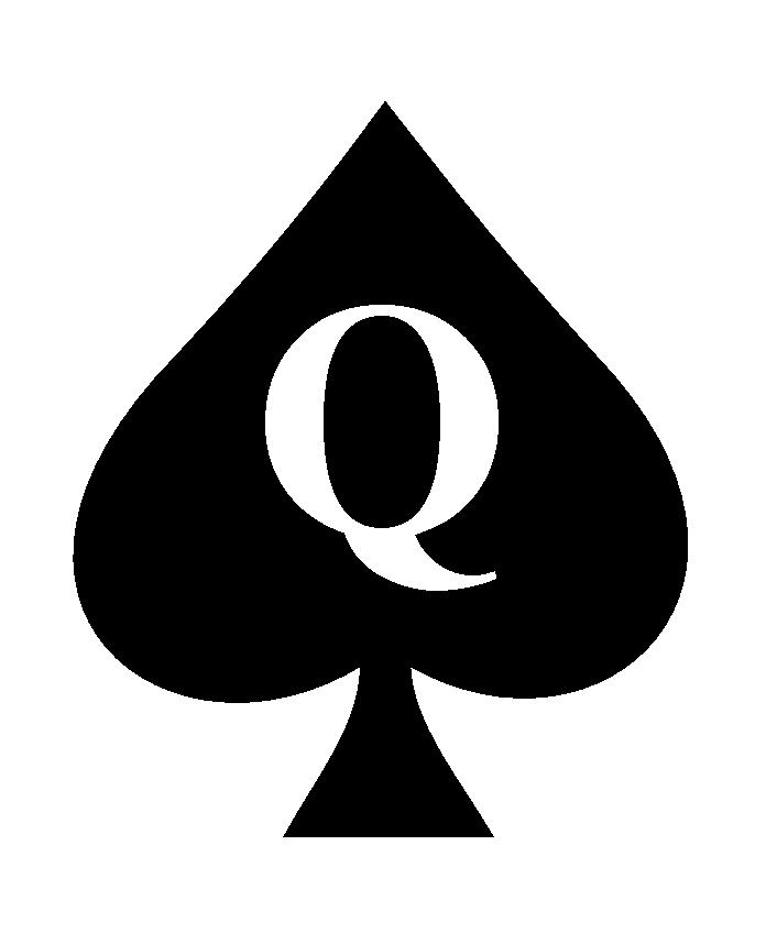 Queen of Spades tattoo by ghigo1972