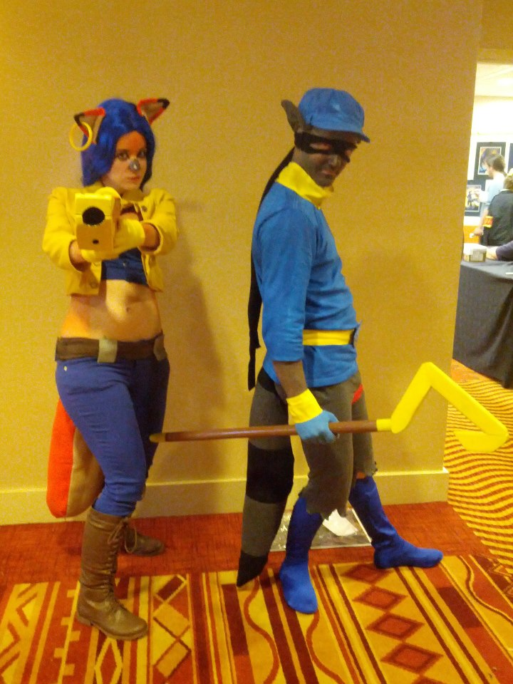 Sly Cooper and Carmelita Fox Cosplay 2 by Kousagi-Tsukino ...  sc 1 st  DeviantArt & Sly Cooper and Carmelita Fox Cosplay 2 by Kousagi-Tsukino on DeviantArt