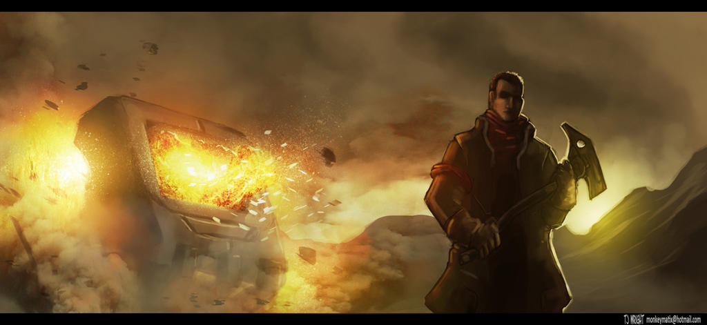 Red Faction: Guerilla by ApneicMonkey