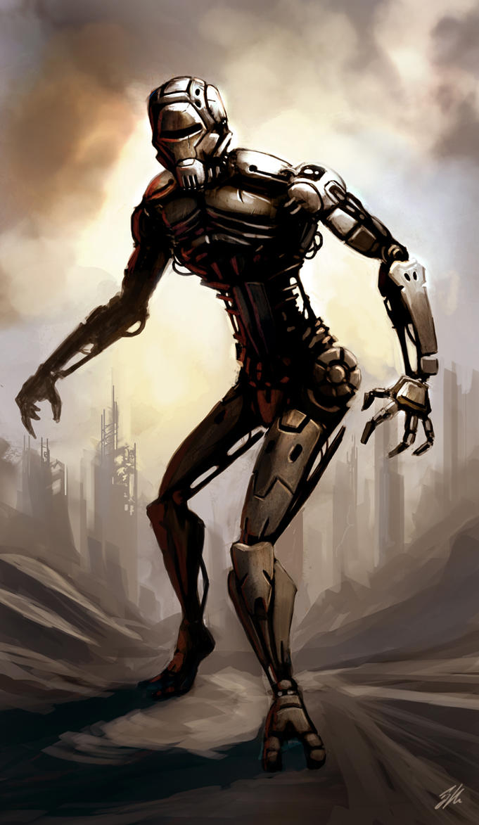 Assassin Droid by ApneicMonkey