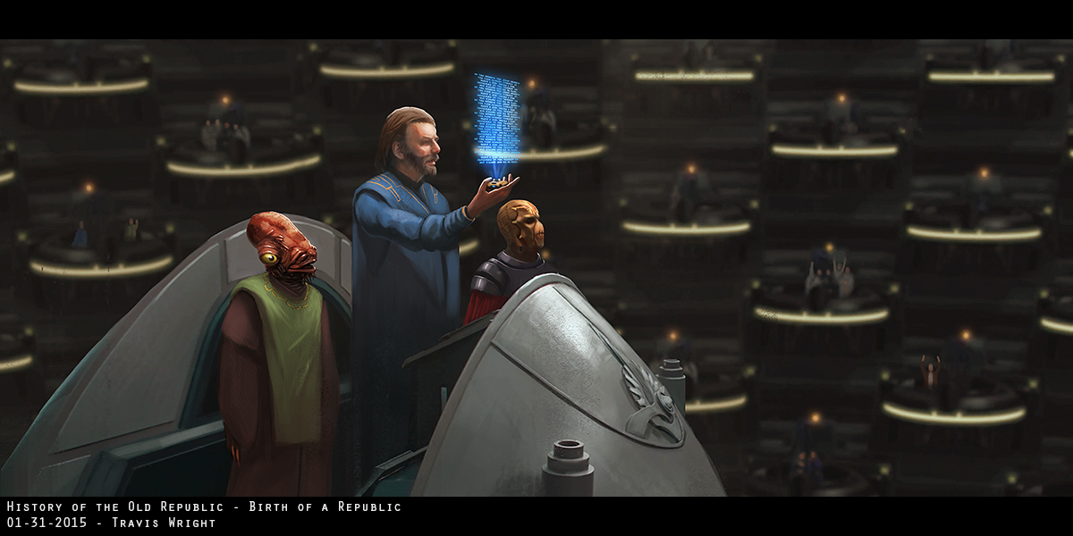 Star Wars - Birth of a Republic by ApneicMonkey