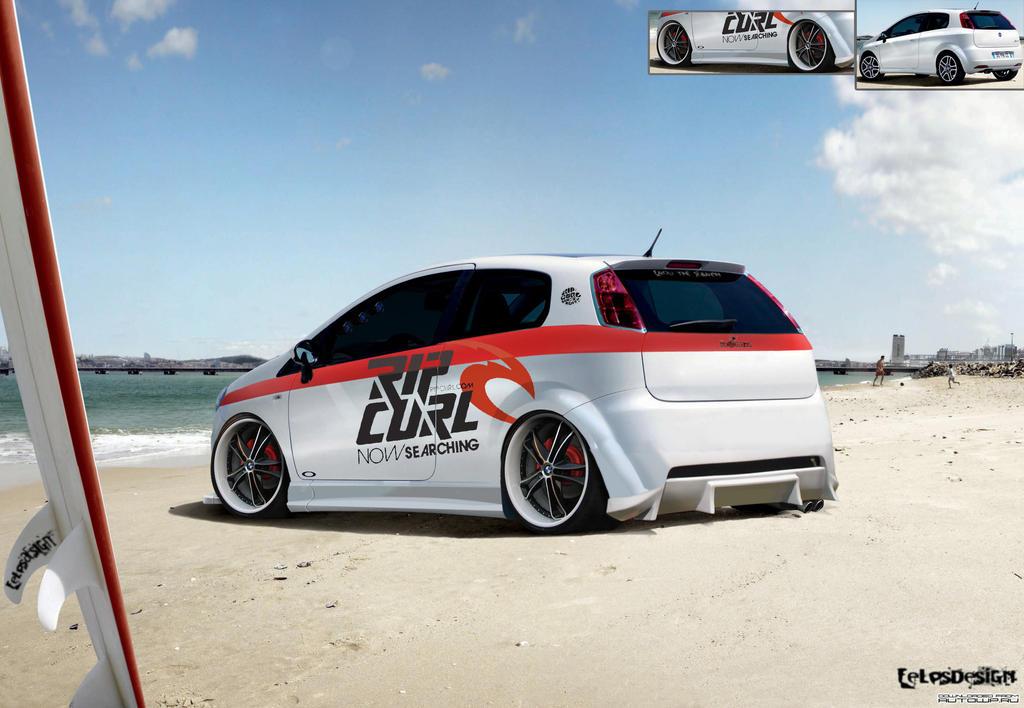 Fiat Punto, RIP CURL by felpsdesigner