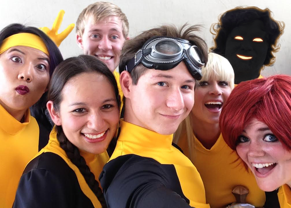 New Mutants Selfie by arivin923