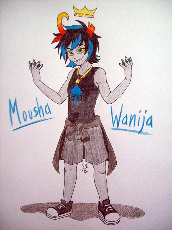 FANSTUCK - Mousha Wanija by Yami-Sonic
