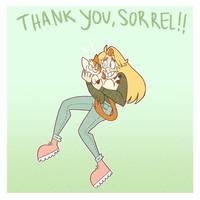 thank you, Sorrel!