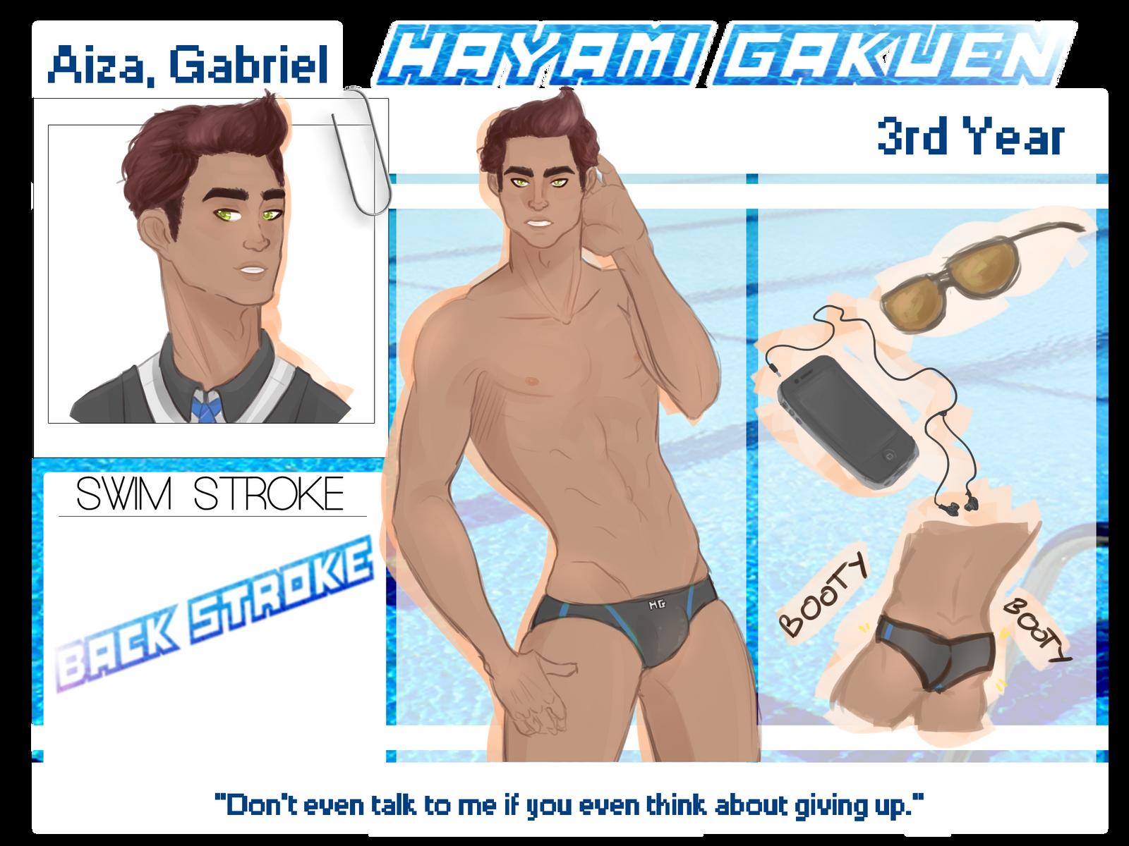 Hayami Gakuen :: Gabe by xauners