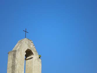 A Cross in the sky by s1m0n26