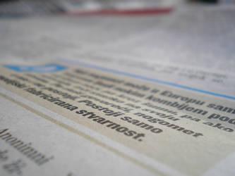 Newspaper II by s1m0n26