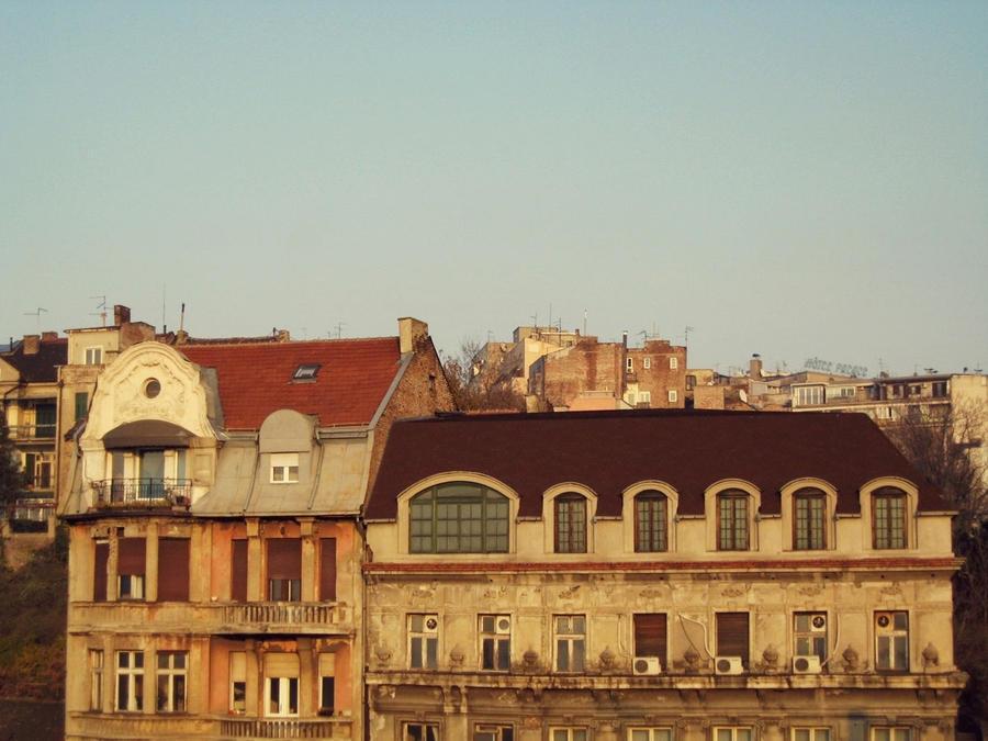 Roof of Belgrade by ZeljkaZ