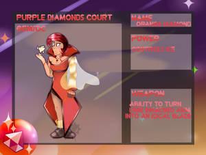 Orange diamond {APP} by Cloud8DoesStuff