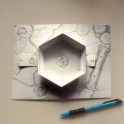 pop-up dice tray - sketch