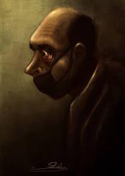 Scary Silence by mostafagom3a