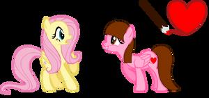 Fluttershy Meets ShyFly  (RQ)
