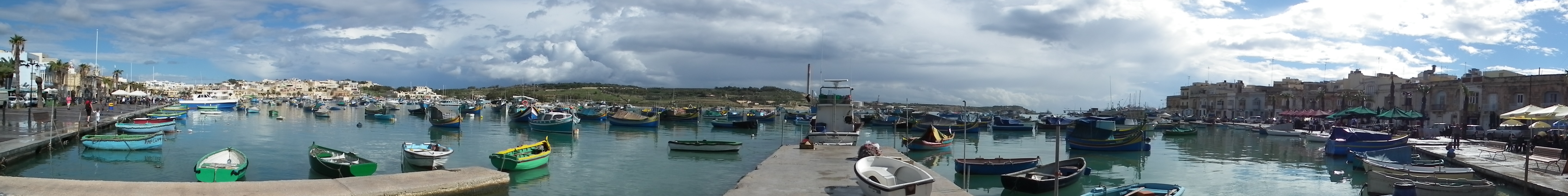 harbour boats - pano by boybeck