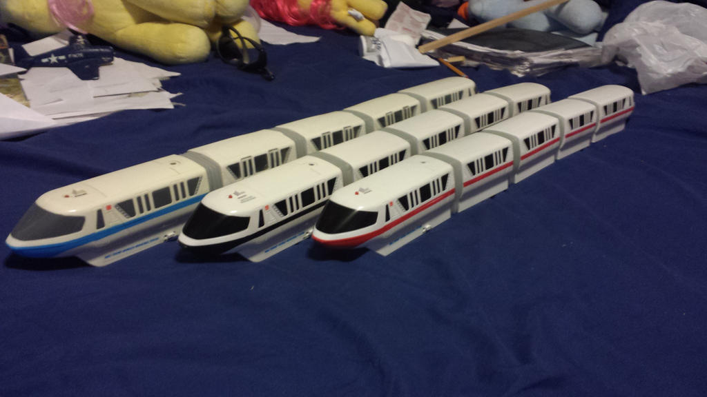 Disney Monorail Collection by Genbe89