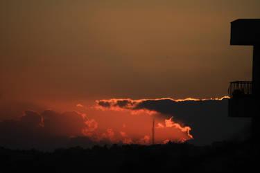 Passionate sunset