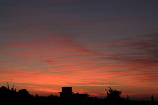 Colours of the sunrise