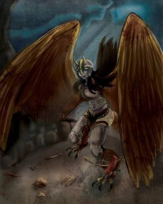 Harpy fail by Betsuni-chan