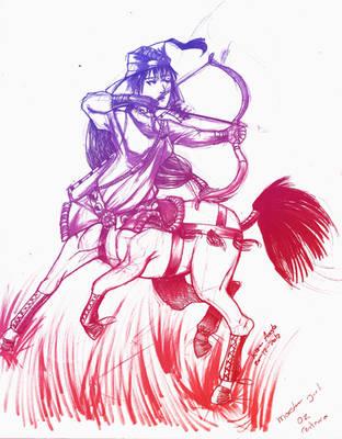 Female centaur by Betsuni-chan
