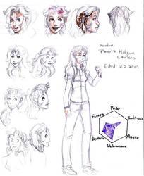Character desing: Pamela by Betsuni-chan