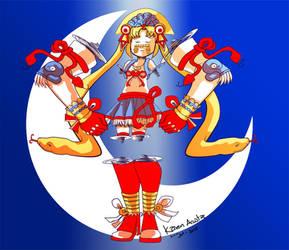 Sailor moon azteca