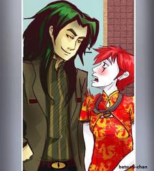 fanart of Crossdress your chack by Betsuni-chan