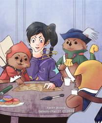 Jay and the oresonren by Betsuni-chan