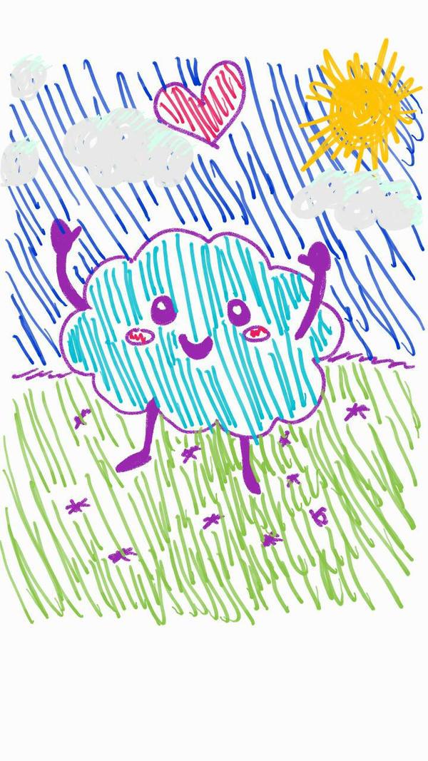 Bored Drawing #3 by Kuribelle
