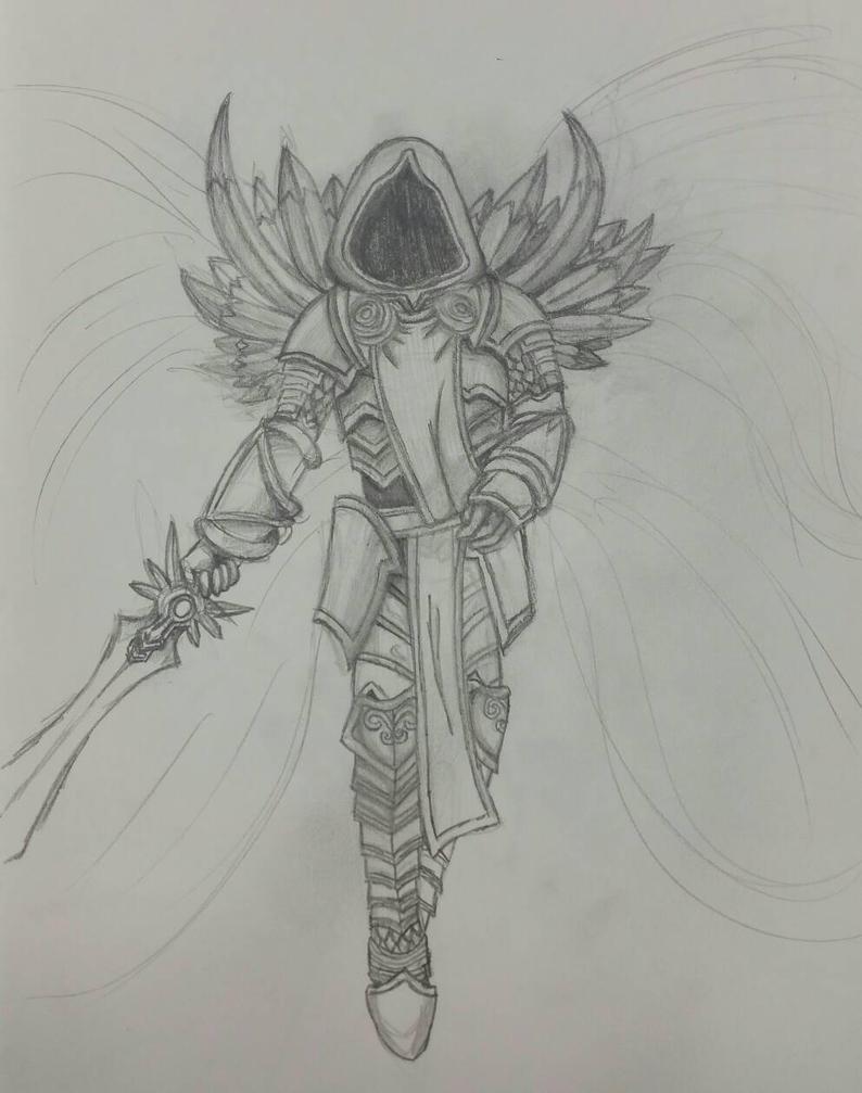 Fan Art #2 Tyrael by Kuribelle