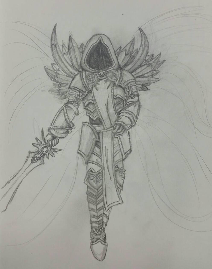 Fan Art #2 Tyrael by Kuribelle