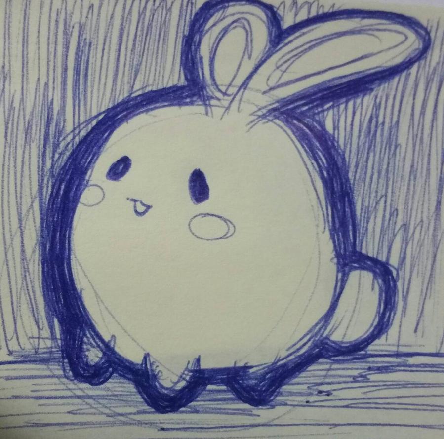 Cute Bunny by Kuribelle