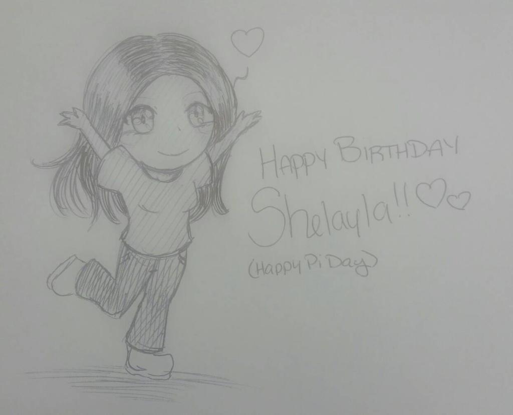 Shelayla Birthday Art 2018 by Kuribelle