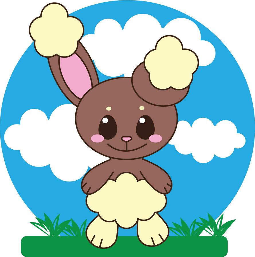 Kawaii Pokemon - Buneary by Kuribelle