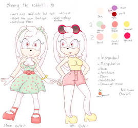 Cherry The Rabbit Reference by SonamyxsiempreFanFic