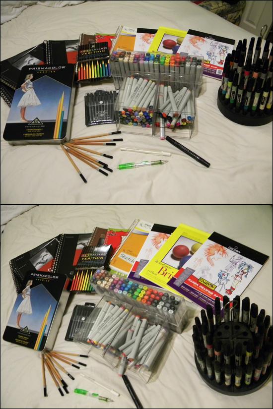 Art Supplies by acidPanda