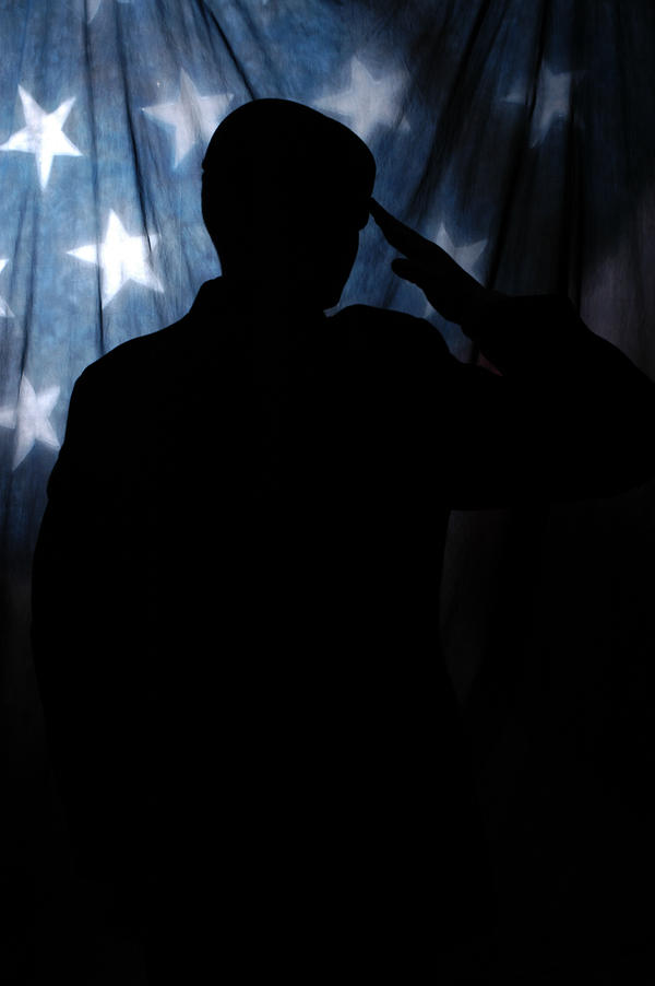 Silhouette of a Soldier, 01 by DuchessPariah