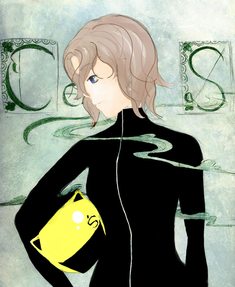 Celty -with her head- by VocaloidOtakuRisa on DeviantArt