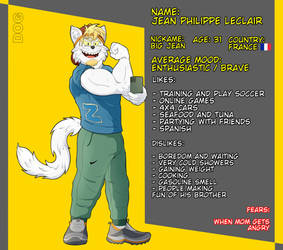 Jean - Reference Sheet by dogarts-tg