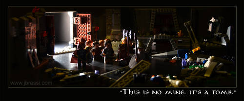 Lego Lord of the Rings : Entering Moria by Jbressi