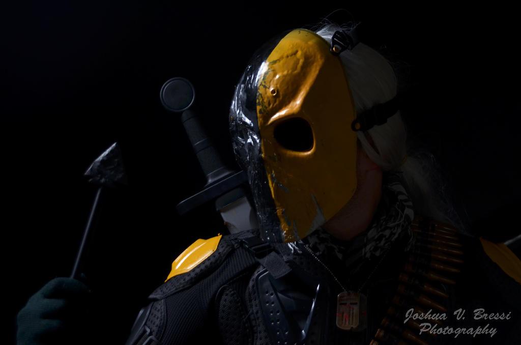Deathstroke Cosplay by Jbressi