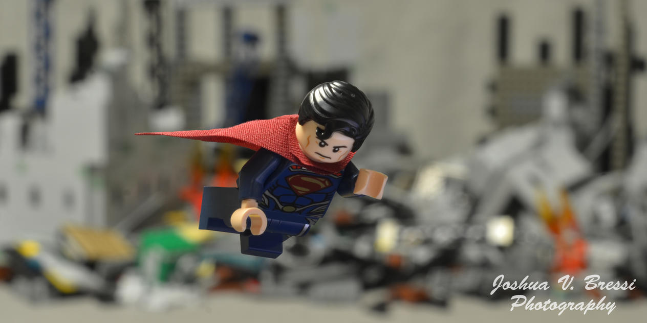 Lego Man of Steel by Jbressi