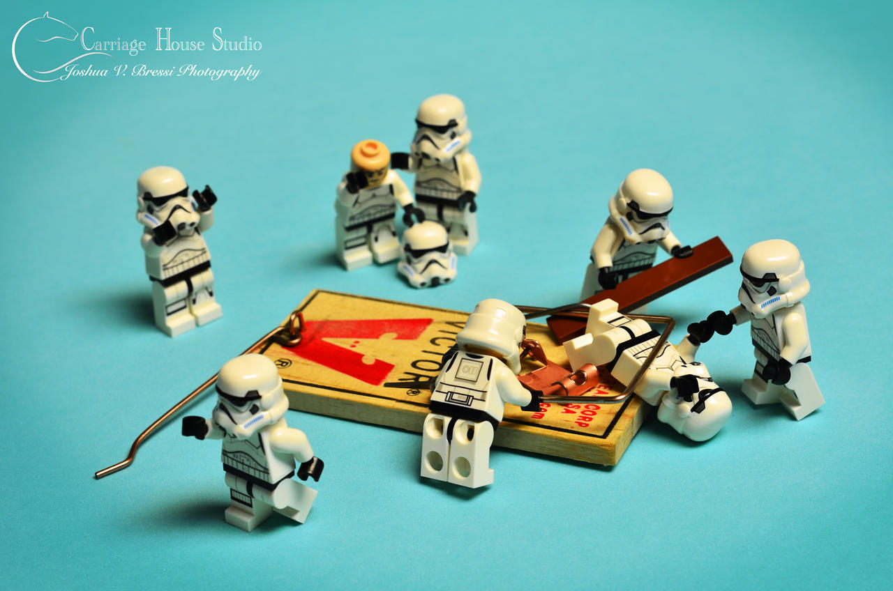 Stormtrooper distracted by ~Z-UO on deviantART - Lego Storm ...