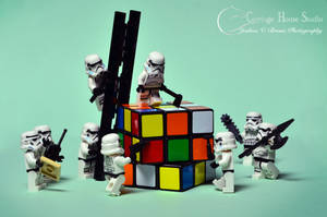 Lego Stormtroopers - Breaking In by Jbressi