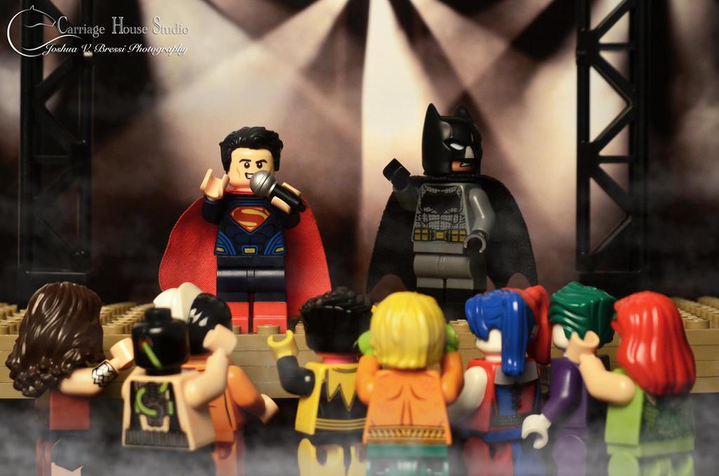 Lego Batman v Superman - Rap Battle by Jbressi