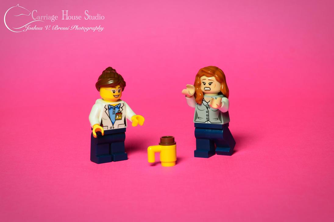 Lego 2 Girls, 1 Cup by Jbressi