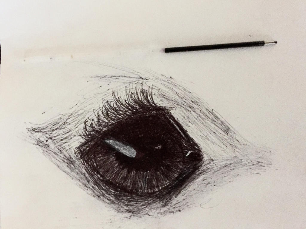 Cartridge Pen Horse Eye 30 Min Speed Draw By Ar1y Cartridge Pen Horse Eye  30 Min