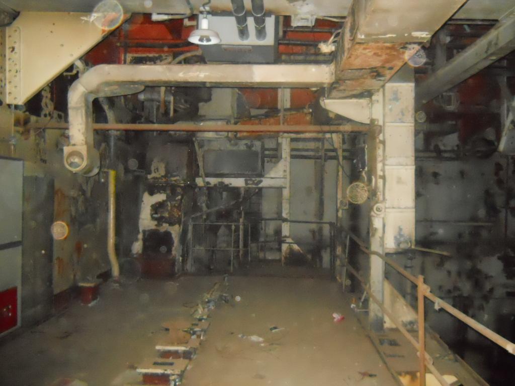 Queen Mary Boiler Room