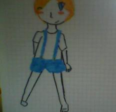 Blue Puffle Human Version by miyu100