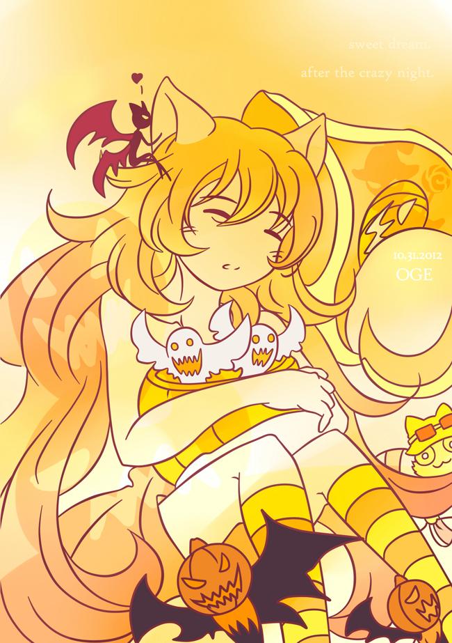 dream after Halloween by orangefigure